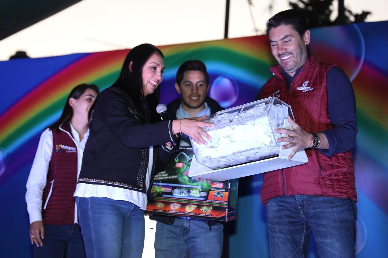 El sueño de la niñez sigue vivo en Metepec con los Reyes Magos: Gaby Gamboa