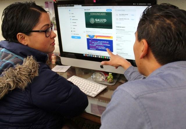 Invita Secretaría de Salud Estatal a consultar información oficial de coronavirus en sus redes sociales