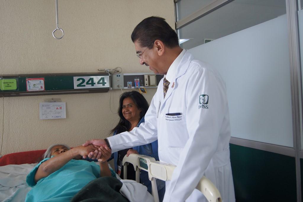 """Destaca Hospital de Traumatología y Ortopedia """"Lomas Verdes"""" del IMSS por su atención médica de especialidad"""