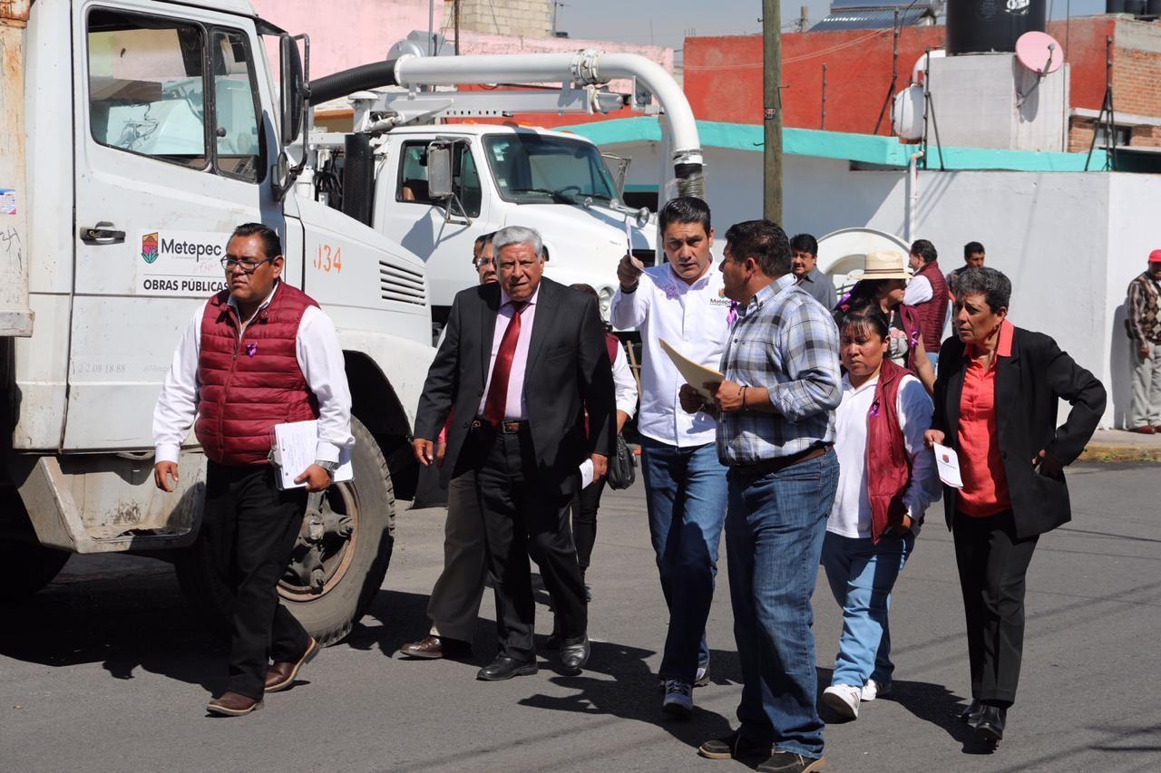 Metepec reduce brecha de desigualdad en la prestación de Servicios Públicos