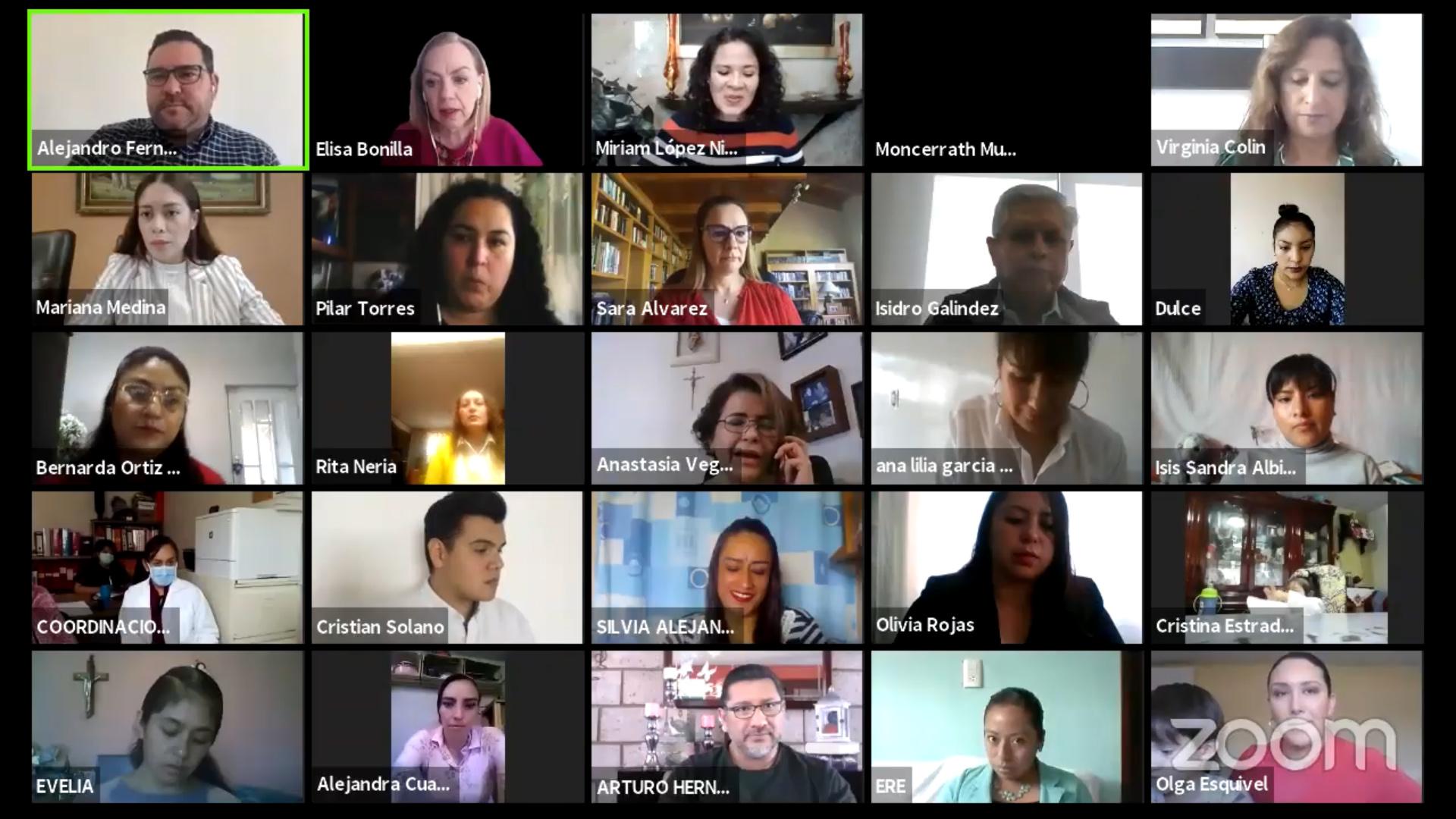 Realiza gobierno del EDOMÉX panel de educación inicial en línea