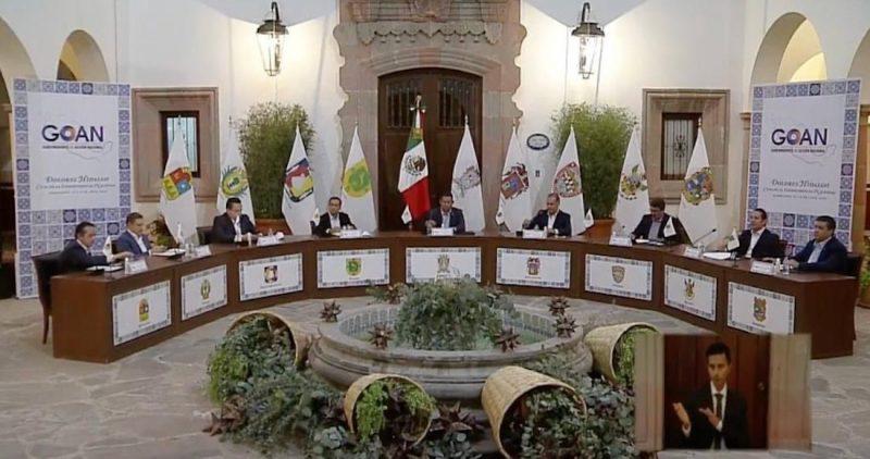 """Gobernadores de Acción Nacional proponen """"ruta de cambio"""""""