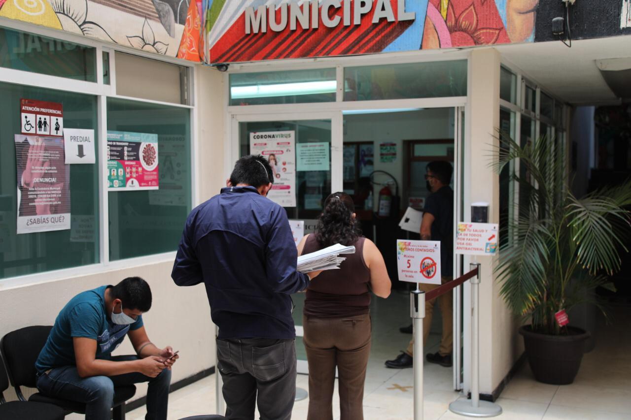 Aprovechan metepequenses estímulos fiscales otorgados por el ayuntamiento