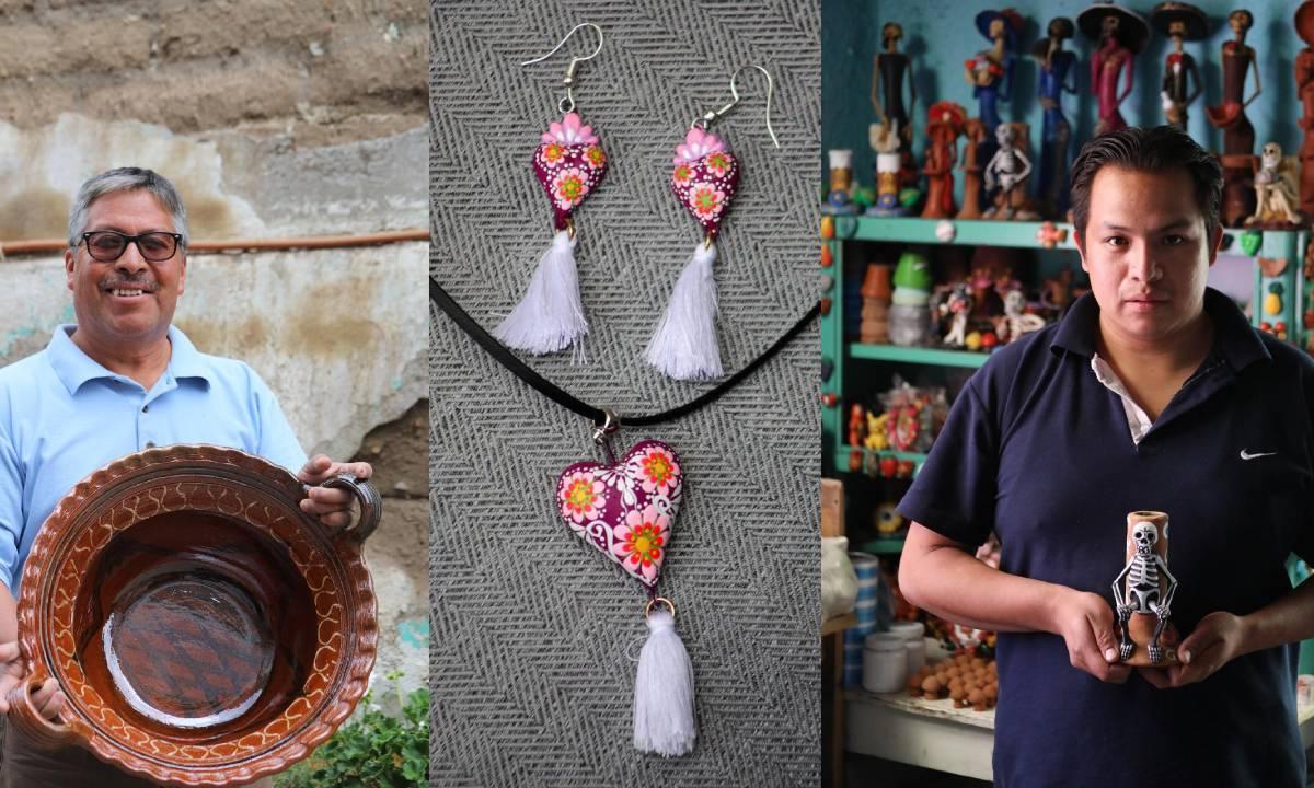 Lanza Gaby Gamboa portal para promover obras de arte de maestros creadores de Metepec