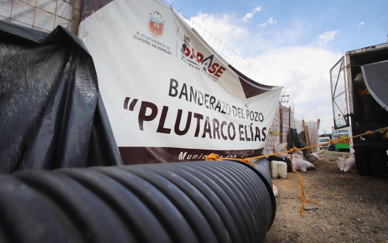 Perforan pozos a 400 metros de profundidad para dotar de agua a vecinos de la V Zona de Ecatepec