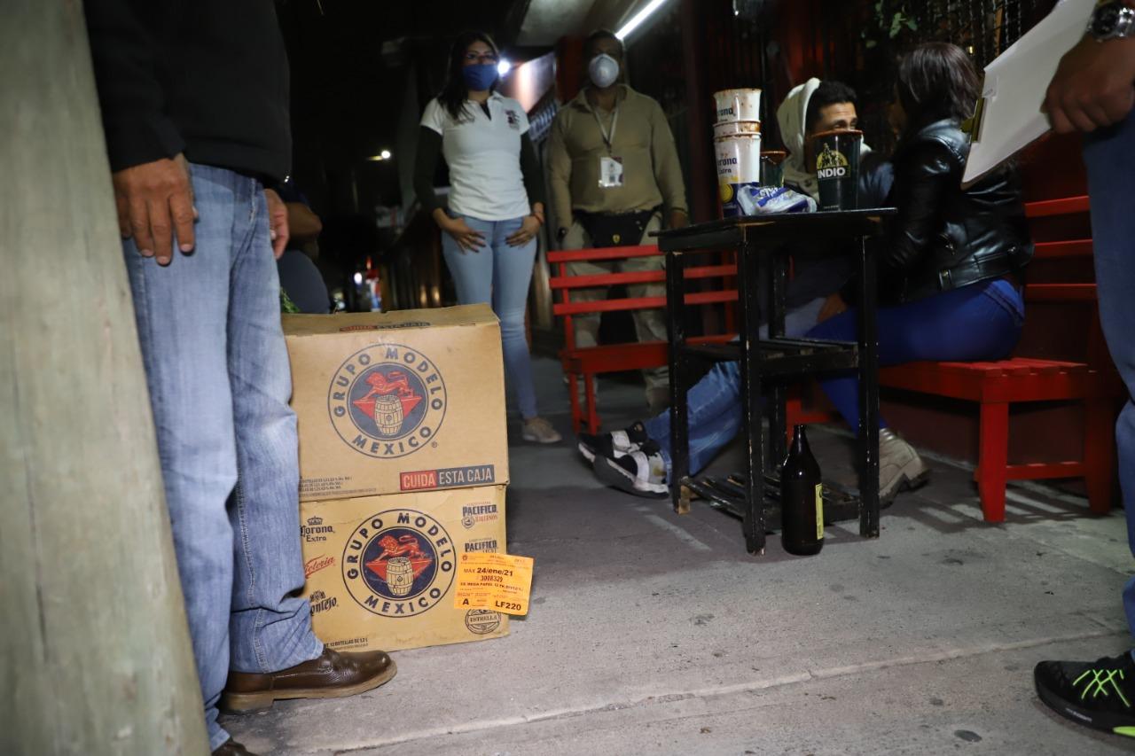 Autoridades de Ecatepec cancelan baile sonidero con más de 200 asistentes; semáforo epidemiológico de Covid-19 se mantiene en rojo