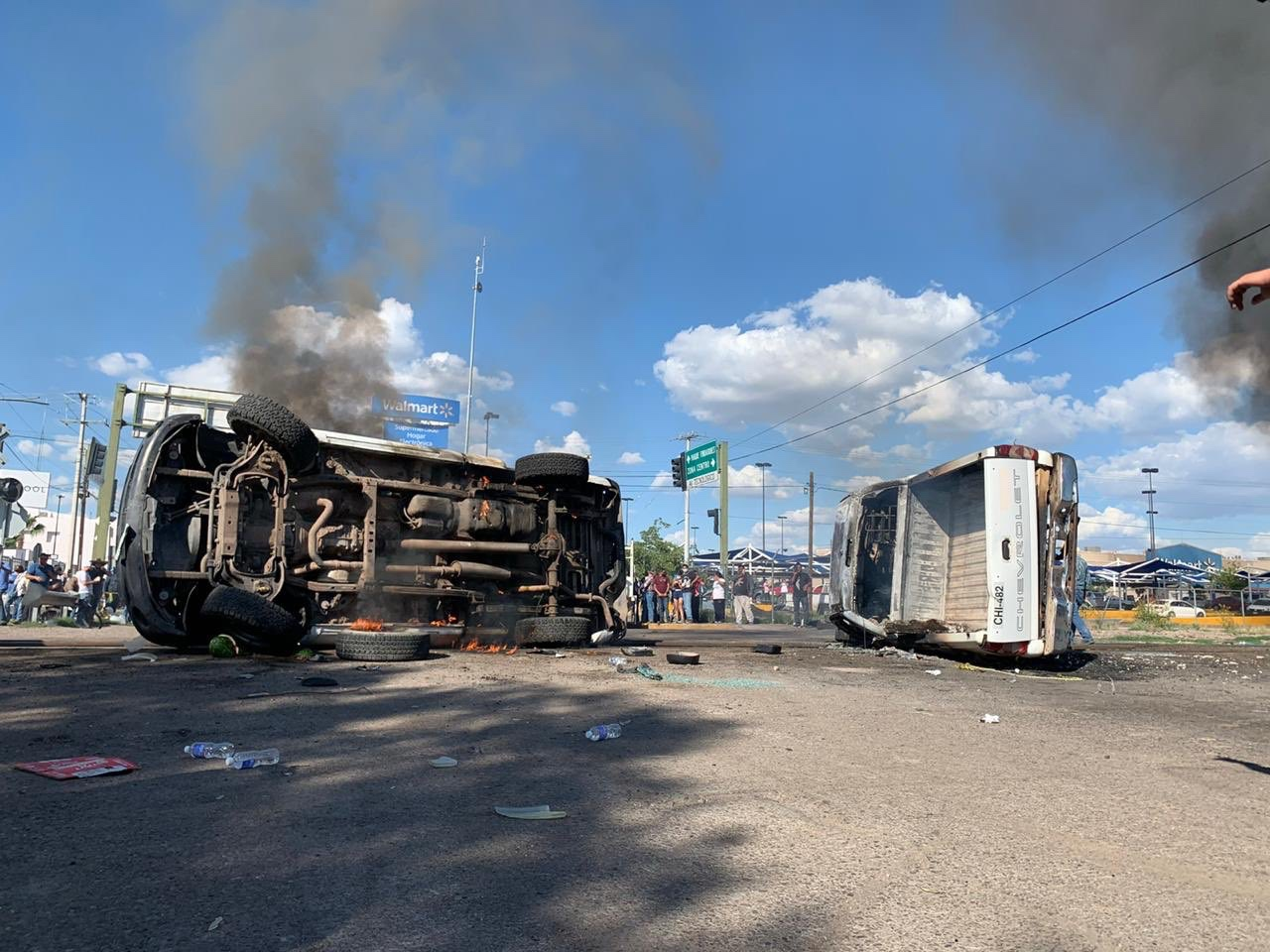 Violentas protestas en Chihuahua por el envío de agua a Estados Unidos