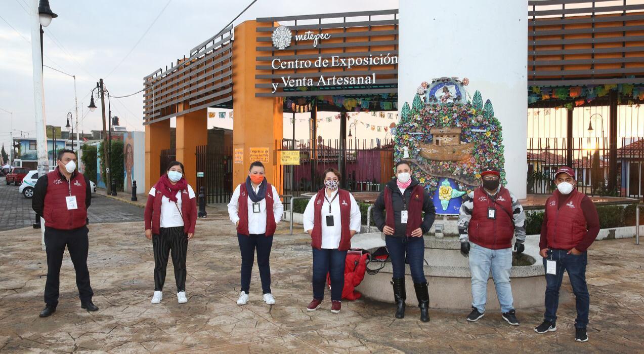En Metepec se evita comercio irregular que opera con riesgo de contagio de Covid-19