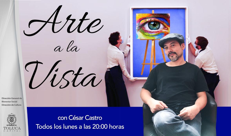 Arte a la Vista apoya a la comunidad artística de Toluca