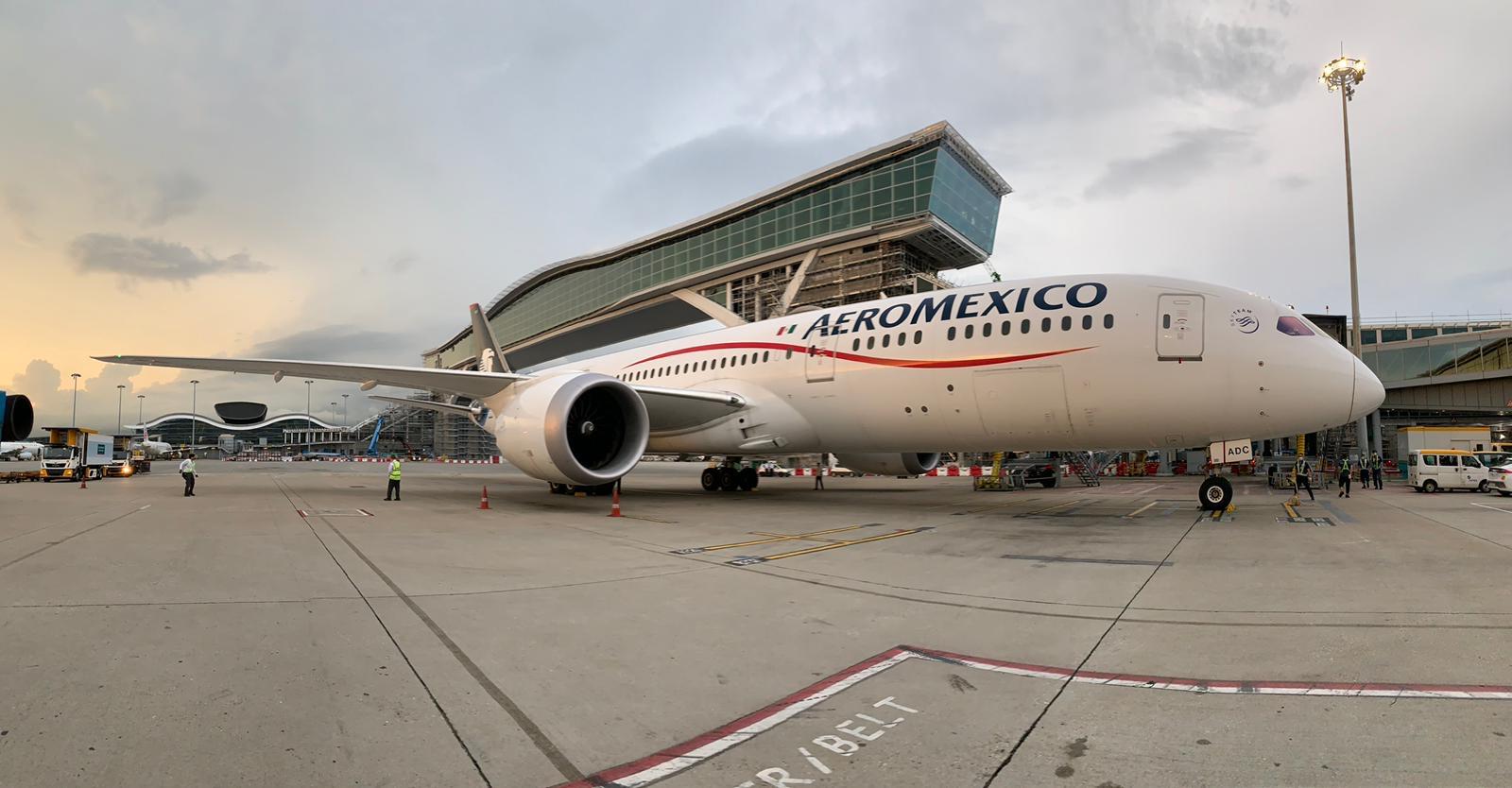 Aeroméxico rompe récord con el vuelo más largo de aviación mexicana