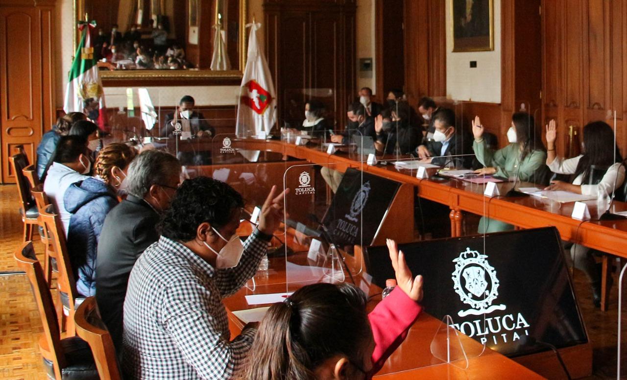 Aprueba Cabildo de Toluca campaña de bonificación fiscal