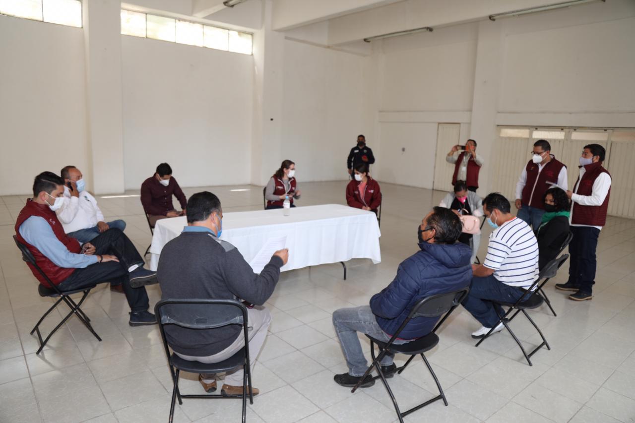 Mantienen autoridades de Metepec diálogo permanente con la ciudadanía