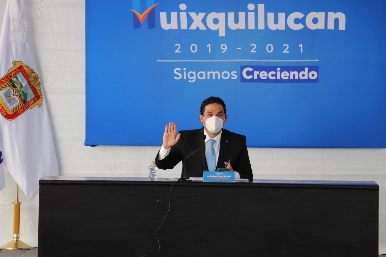 En Huixquilucan se han invertido más de mil 500 millones de pesos en obra pública