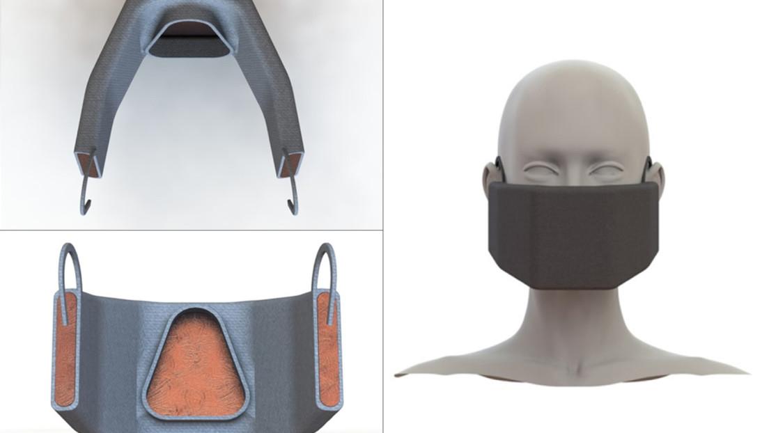 Ésta máscara es capaz de matar el coronavirus por su temperatura