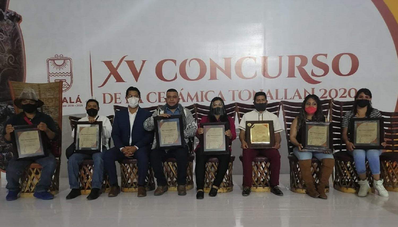 """Triunfa Edoméx en XV concurso nacional de cerámica """"Tonallan 2020"""""""