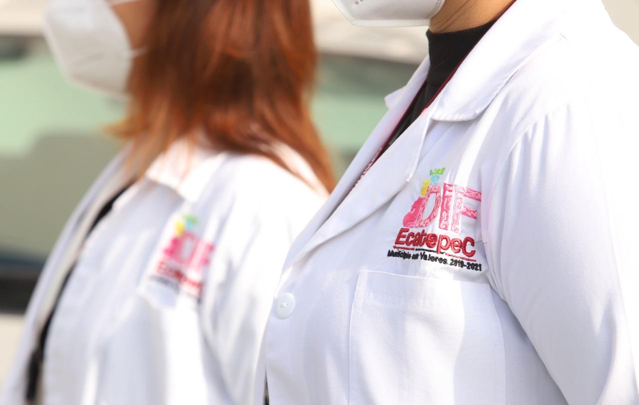 Ecatepec brindan atención médica y psicológica gratuita a personas con síntomas de Covid-19
