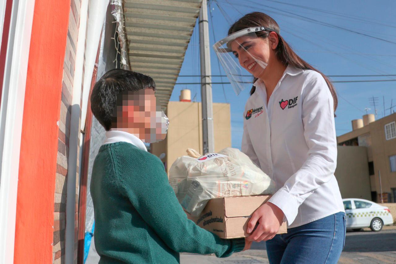 Con acciones concretas el DIF municipal da bienestar a la niñez metepequense
