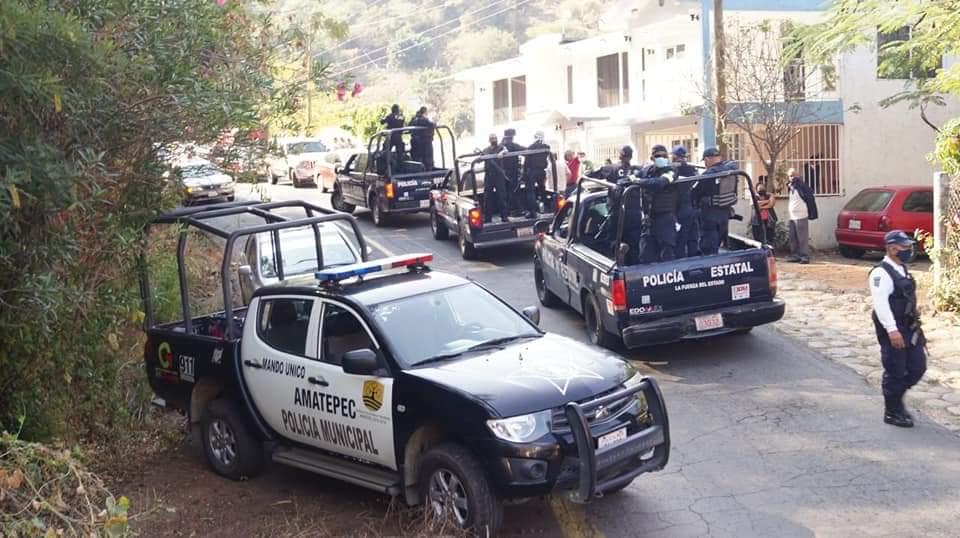 Restringen acceso a foráneos en sur mexiquense