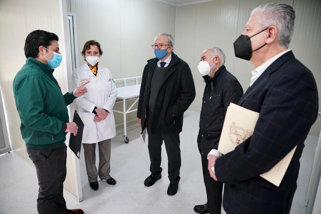 Habilitan Centro de Atención Temporal en Naucalpan, para convalecientes de COVID-19