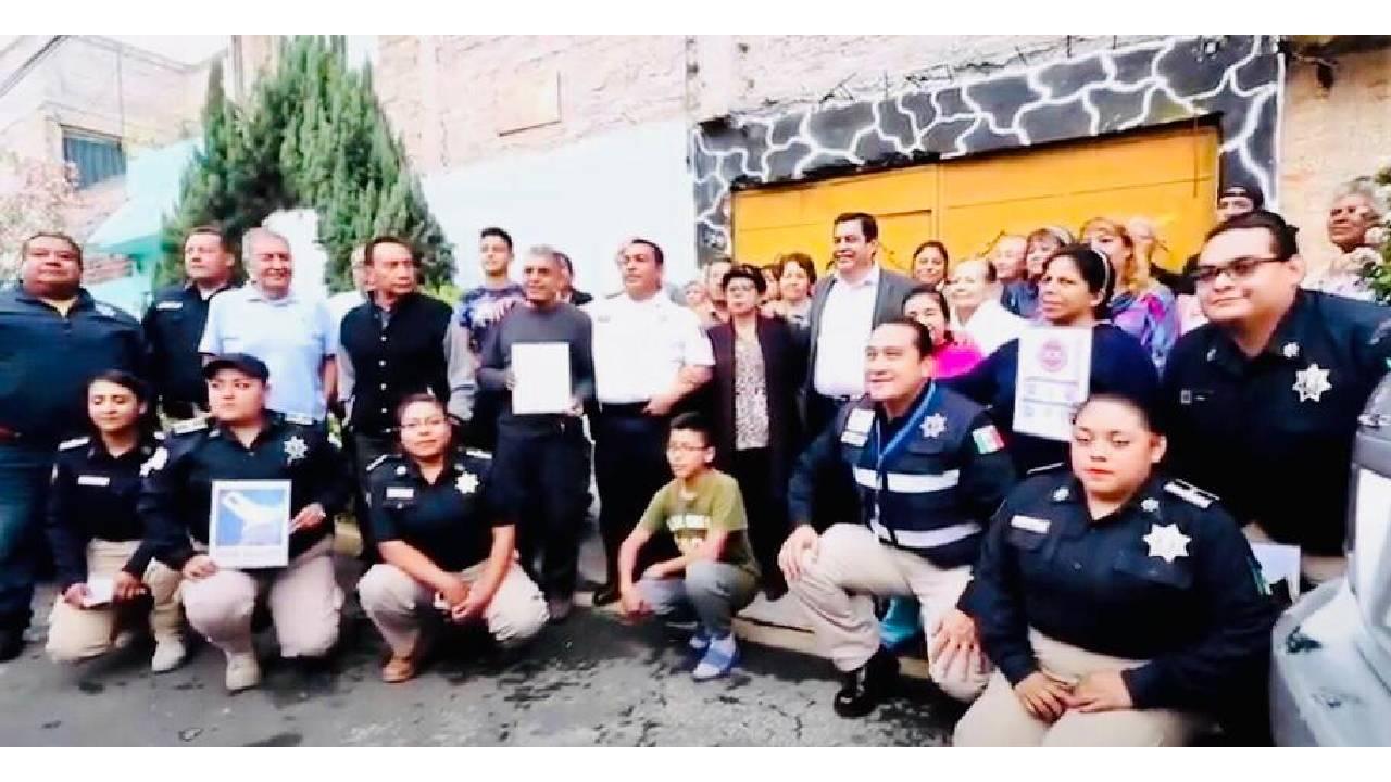 Reconoce Gobierno Federal a la policía municipal de Nezahualcóyotl