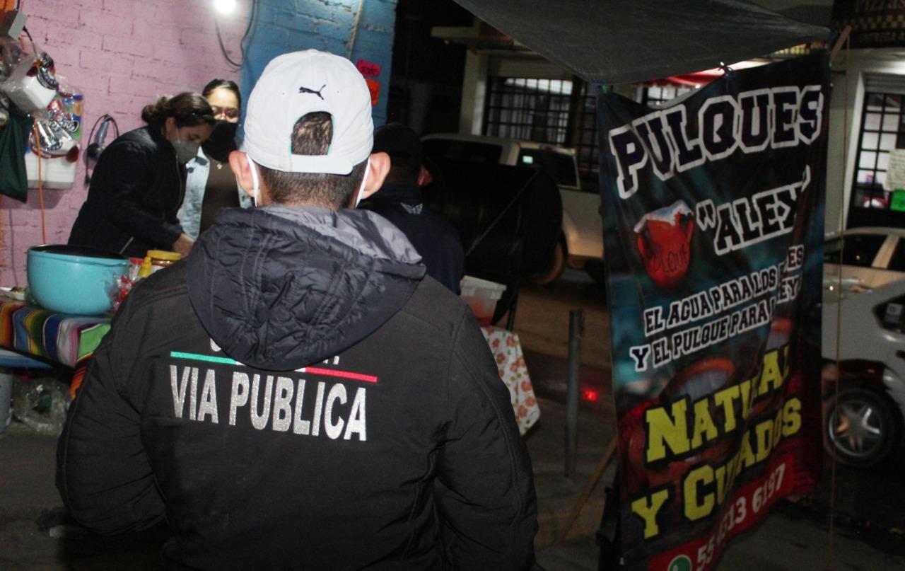 Realizan operativo para cancelar fiestas y suspenden puntos de venta de alcohol en Ecatepec