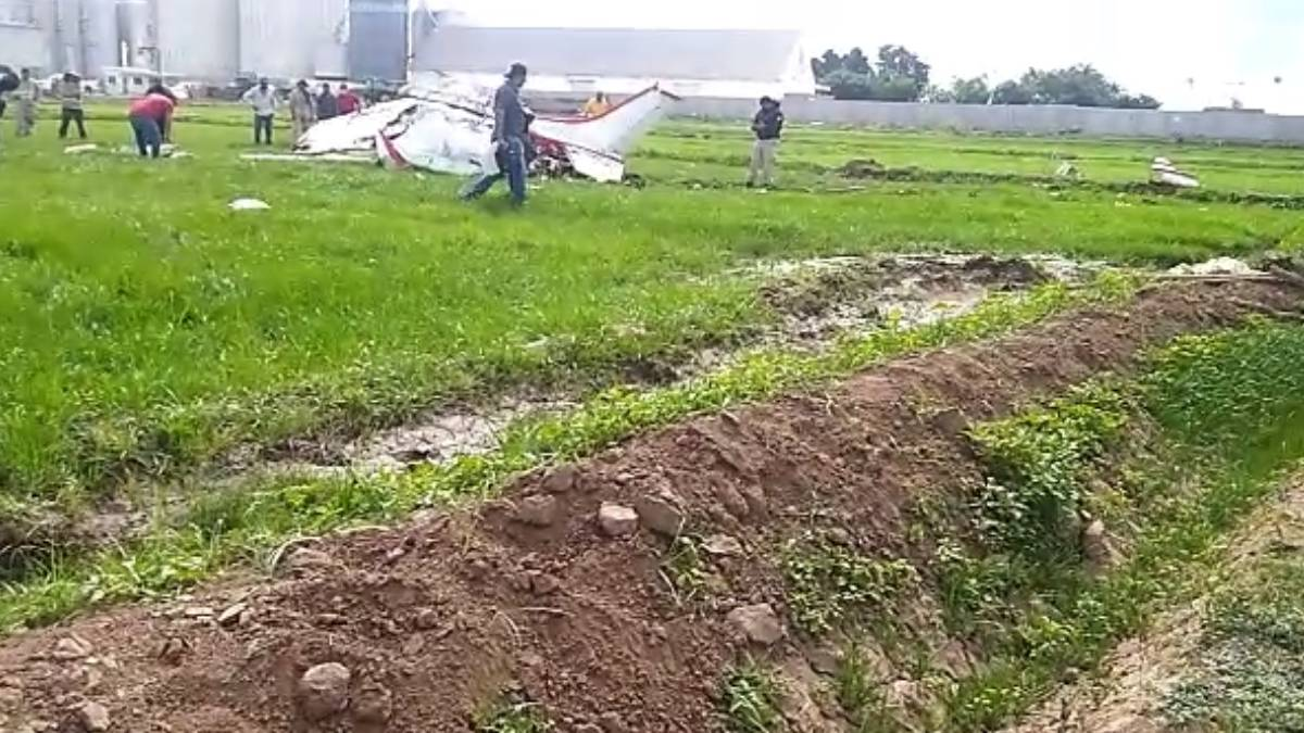 #Video: Se desploma avioneta en Navolato; mueren tres personas