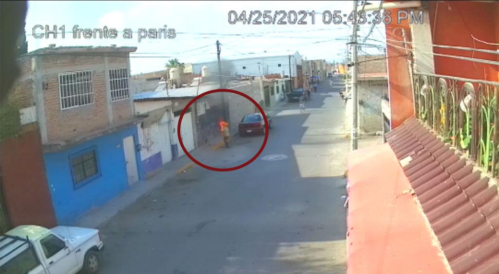 ¡Terrible! Sujeto prende fuego a mujer indigente de la tercera edad en Celaya