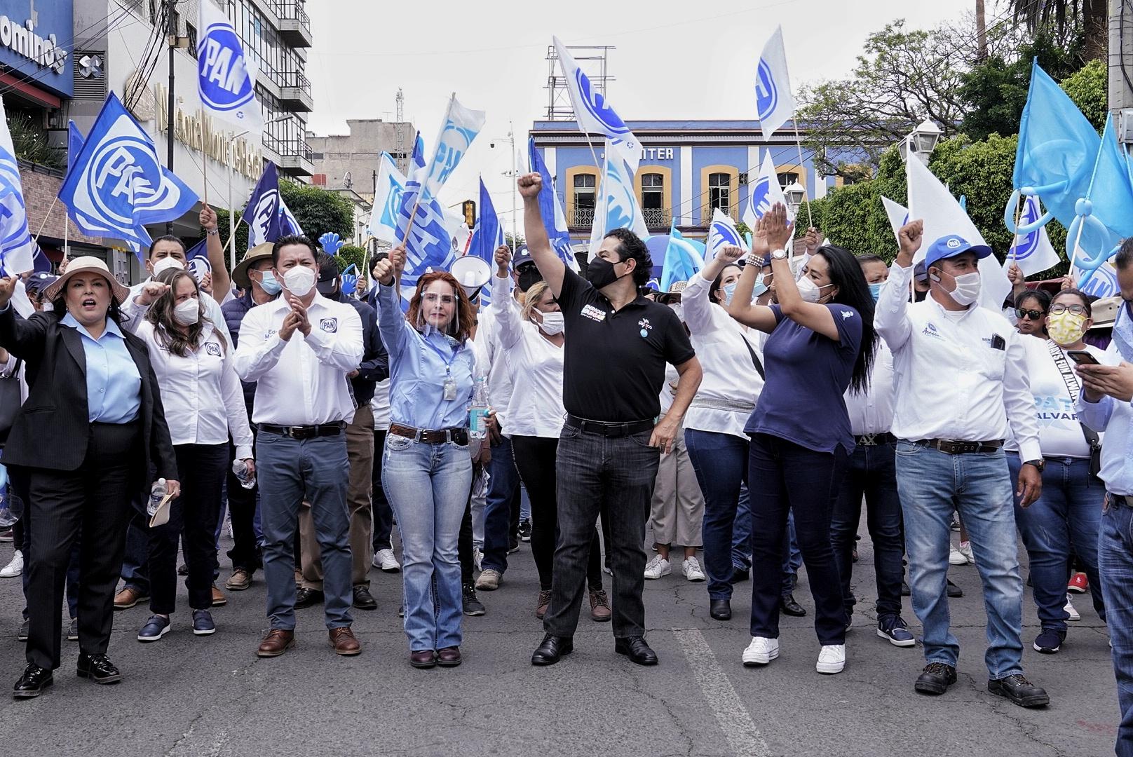 Se siente un ánimo de victoria en el Estado de México: Enrique Vargas