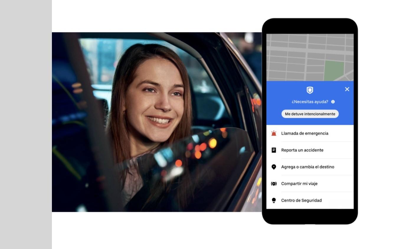 """""""RideCheck"""" la nueva función de seguridad de Uber que detecta si hubo desviaciones en la ruta"""