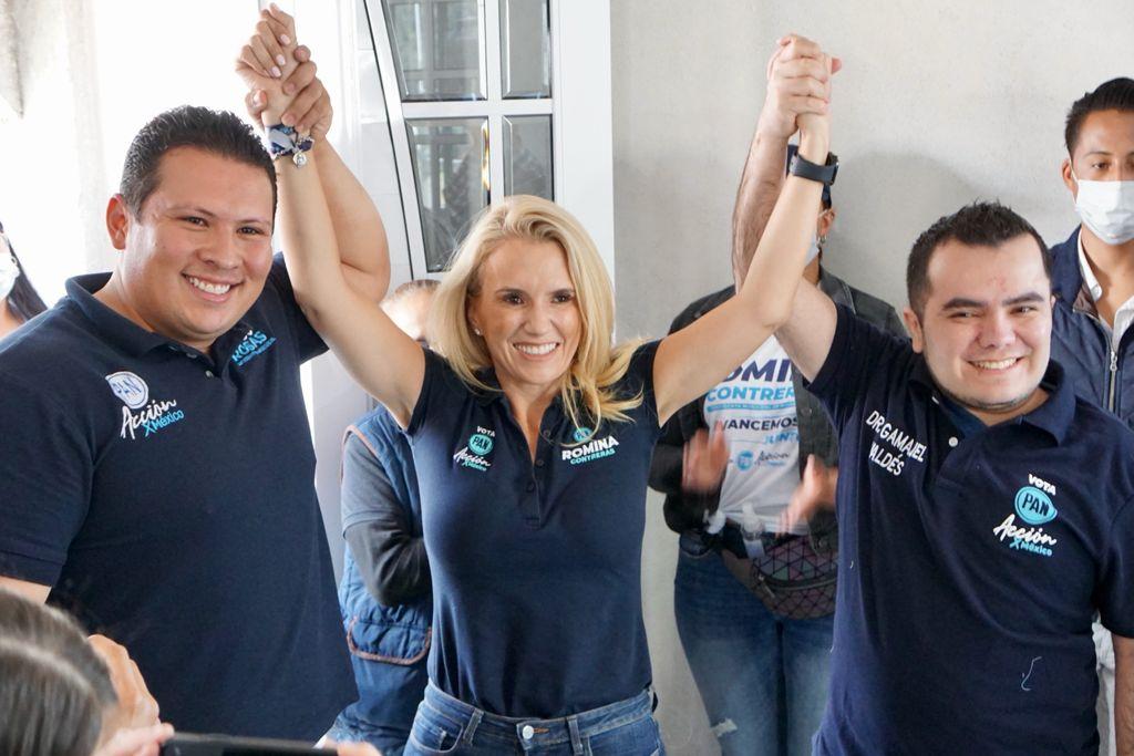 Se suman 6 mil simpatizantes de la coalición juntos haremos historia a la candidatura de Romina Contreras en Huixquilucan
