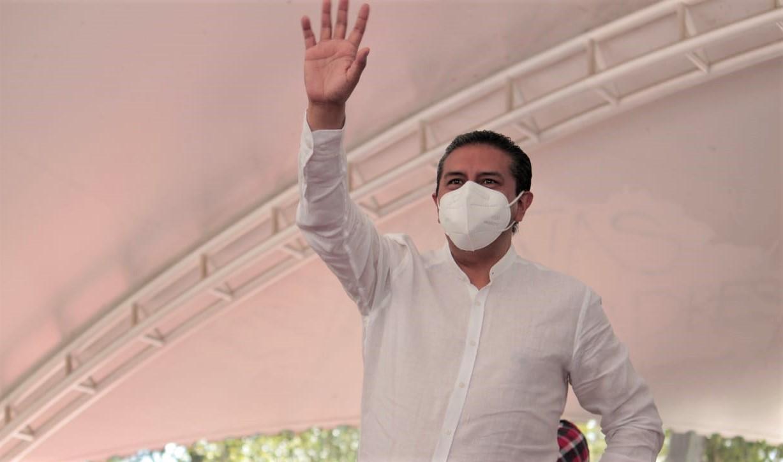 Juan Rodolfo Sánchez recorre calles del Centro Histórico, Santa Bárbara, El Cóporo y Zopilocalco