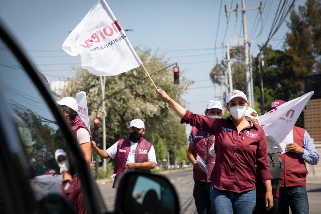 Haremos de Metepec un municipio más limpio, seguro y tranquilo: Gaby Gamboa