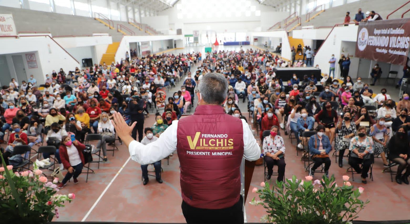 Anuncia Fernando Vilchis Escuela de Empoderamiento para Mujeres de Ecatepec