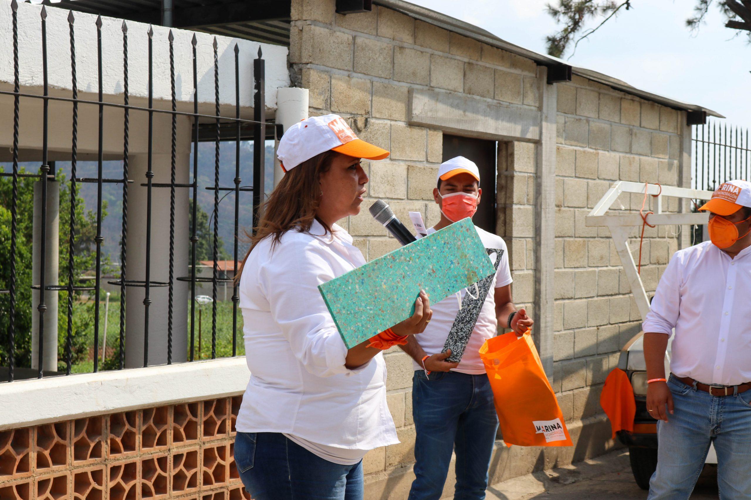 Marina Cruz Mondragón dio a conocer una de sus estrategias que permitirán reducir la contaminación en Valle de Bravo