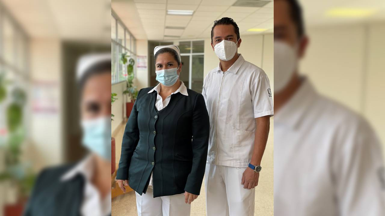 Personal de enfermería, destaca por su sentido humano y profesionalismo
