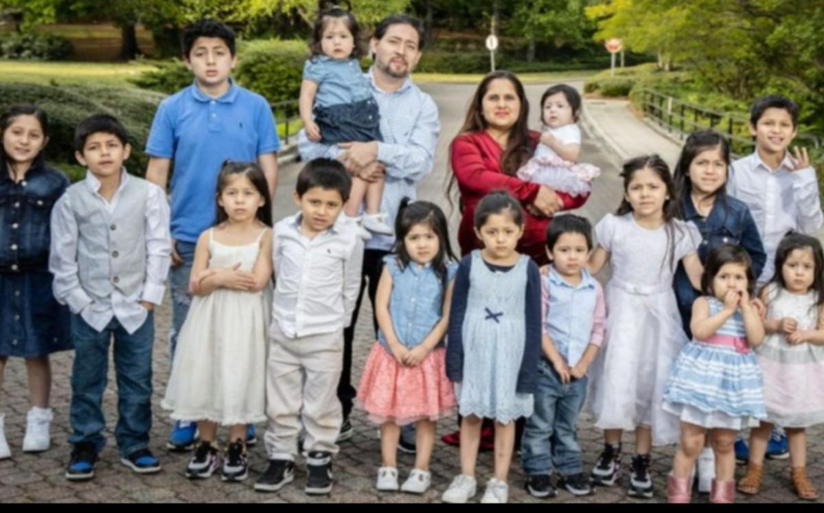 ¡Impresionante! Mujer de 39 años tiene 16 hijos y todos inician con la letra C
