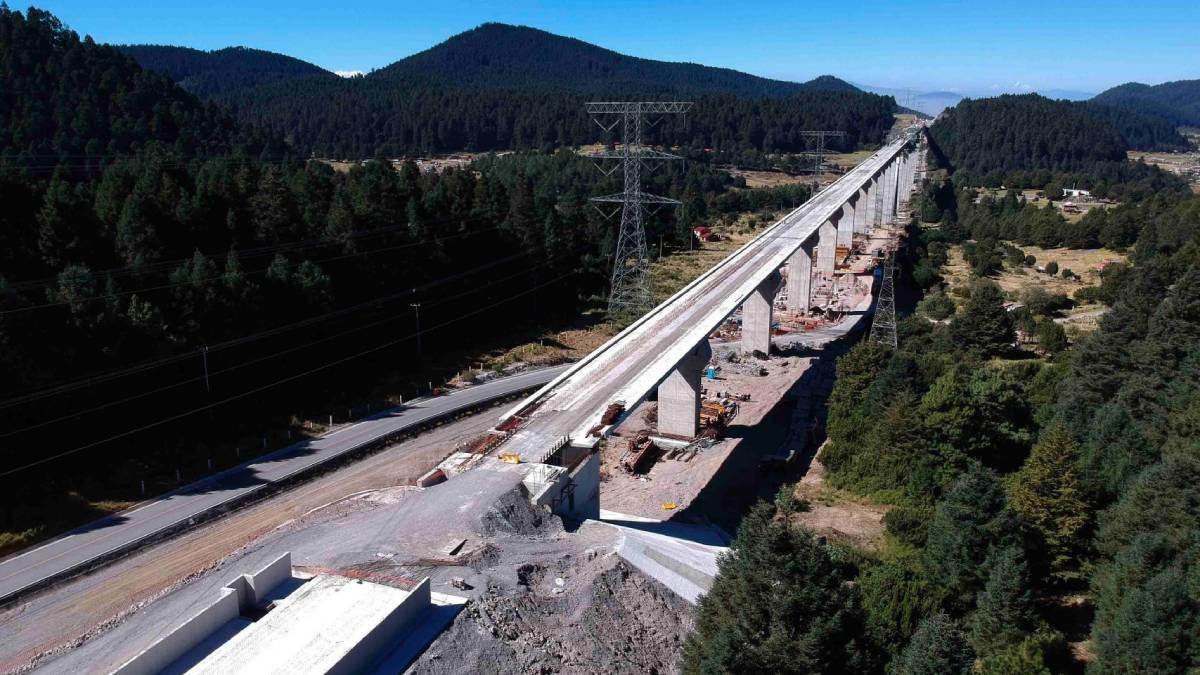 Por obras del Tren Interurbano serán cerrados tres carriles de lacarretera México-Toluca