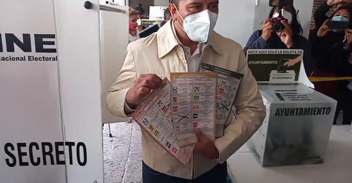 Registra su voto 3 de 3 a favor de Morena Juan Rodolfo Sánchez Gómez