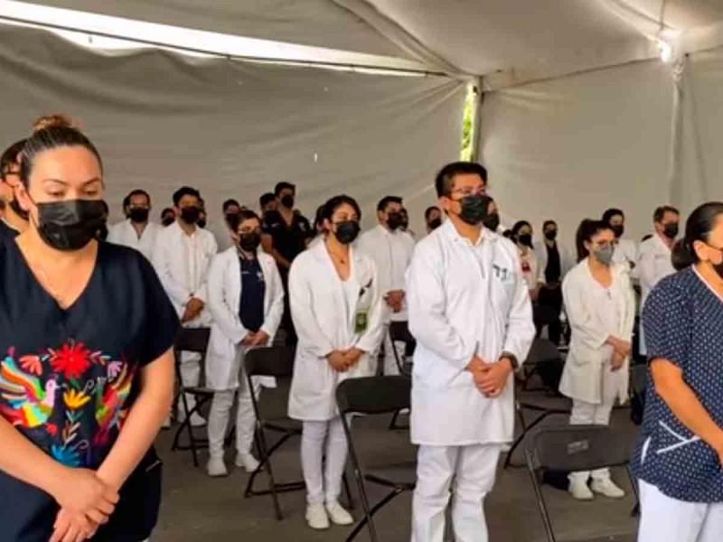 Médicos anuncian marcha pacífica en memoria de Beatriz, la doctora fallecida en Hidalgo
