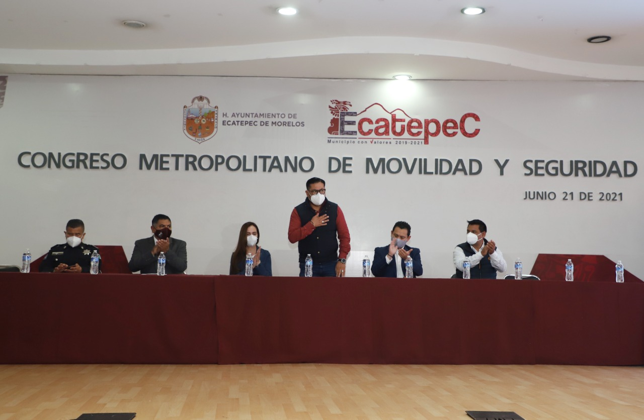 Organiza Ecatepec Congreso Metropolitano de Movilidad y Seguridad Vial; participan expertos de varios países