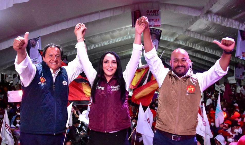 El cambio verdadero que combate a la corrupción, se reafirmará en Metepec con el masivo voto ciudadano el próximo domingo: Gaby Gamboa
