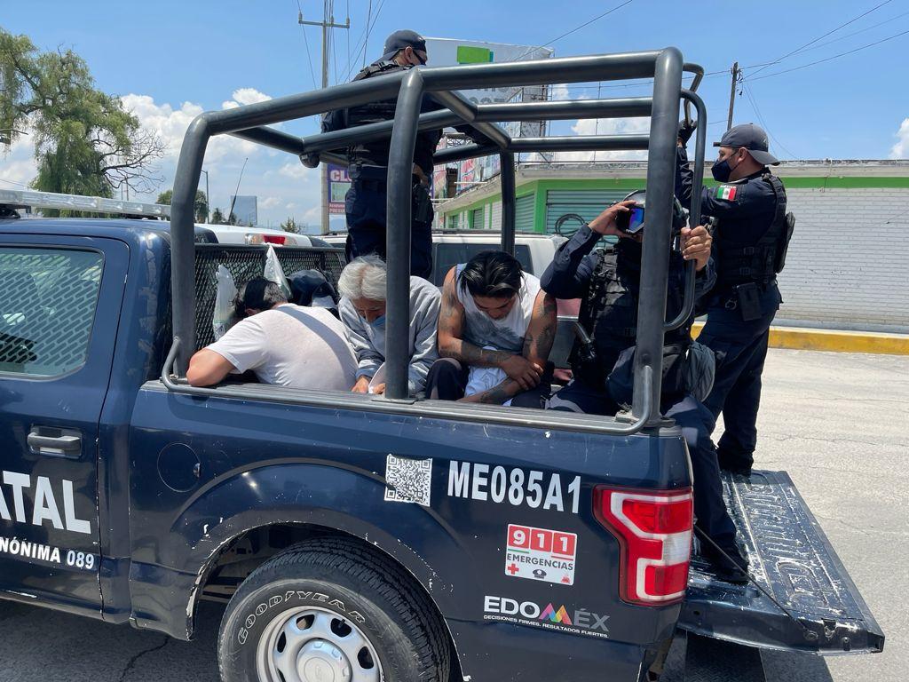 Detienen a 15 implicados en disturbios de casillas en Metepec