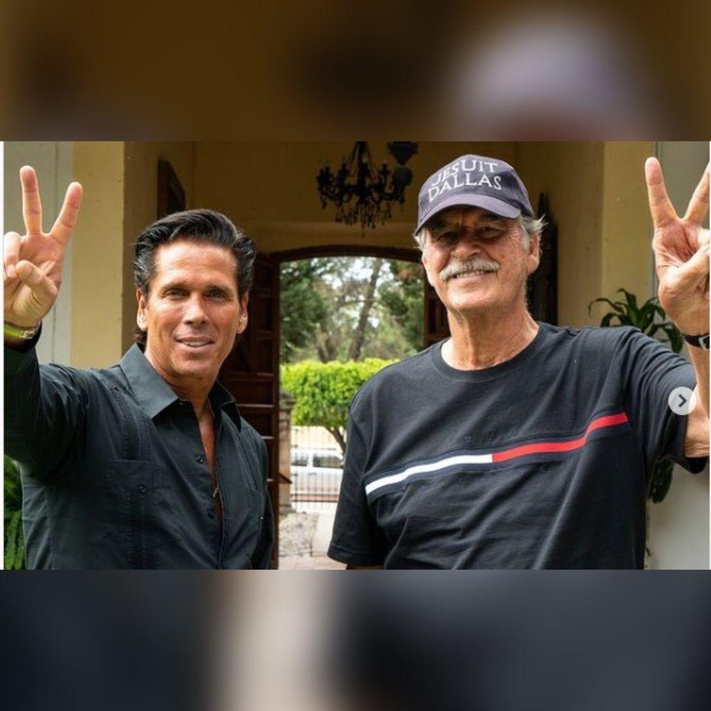 """¡Socios! Vicente Fox y Roberto Palazuelos se unen para crear los """"Oxxos de la marihuana"""""""