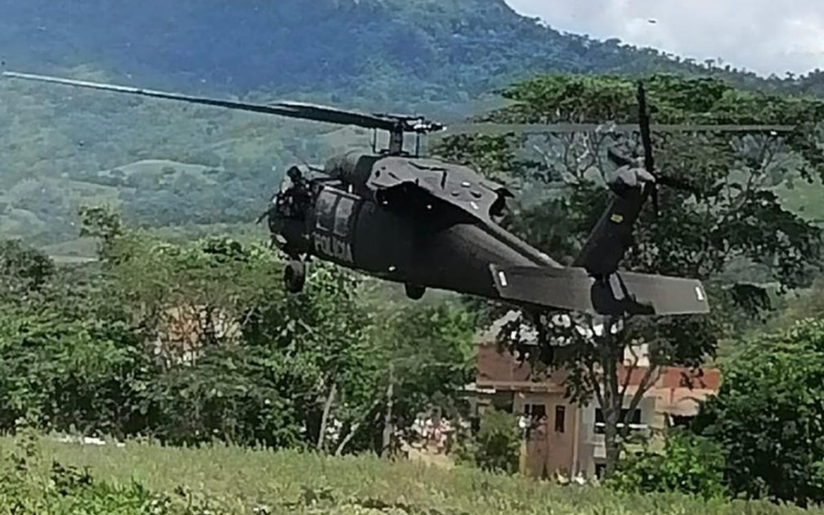 ¡Atentado presidencial! Atacan helicóptero donde viajaba el presidente de Colombia, Iván Duque