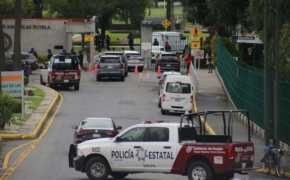 Policía Estatal toma instalaciones de la UDLAP en Cholula