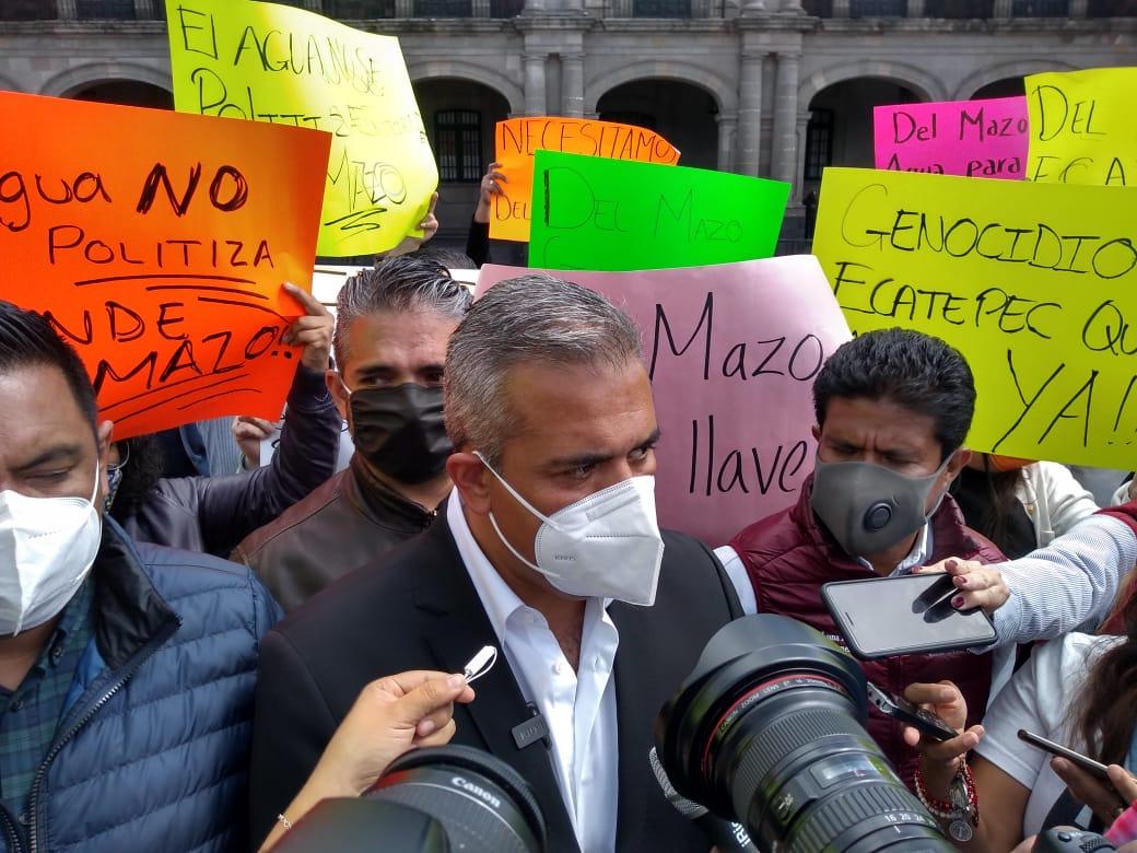 Alcalde Fernando Vilchis exige a GEM agua y seguridad para Ecatepec