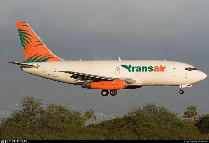 Ameriza de emergencia en Hawai avión de carga Boeing 737