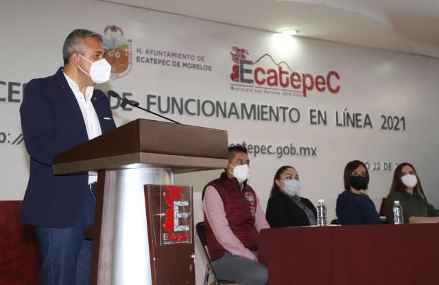 Ecatepec otorga licencias de funcionamiento en línea