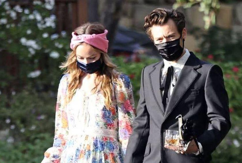 ¡Que románticos! Harry Styles y Olivia Wilde derrochan amor en Italia