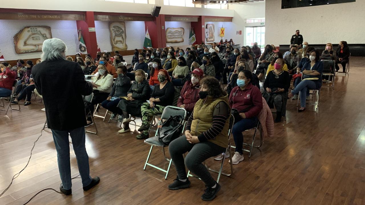 Gobierno de Ecatepec brinda ayuda psicológica a familiares de víctimas de Covid-19